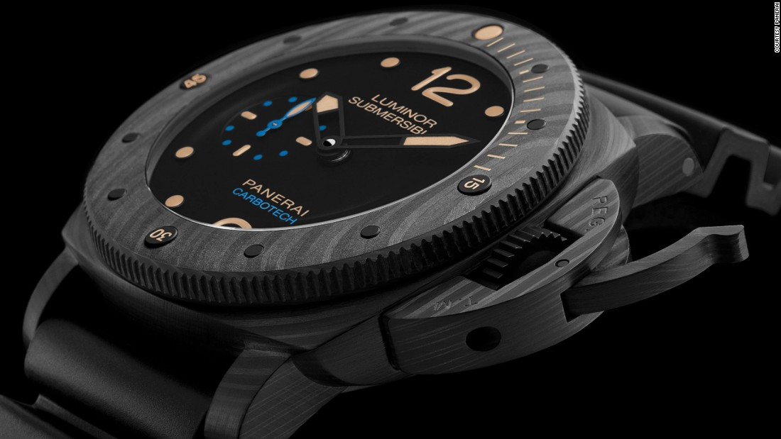 "<a href=""http://www.panerai.com/"" target=""_blank"">Panerai</a>'s new Luminor Submersible 1950 Carbotech is the first to be developed from from a new carbon fiber-based composite material that gives each model."