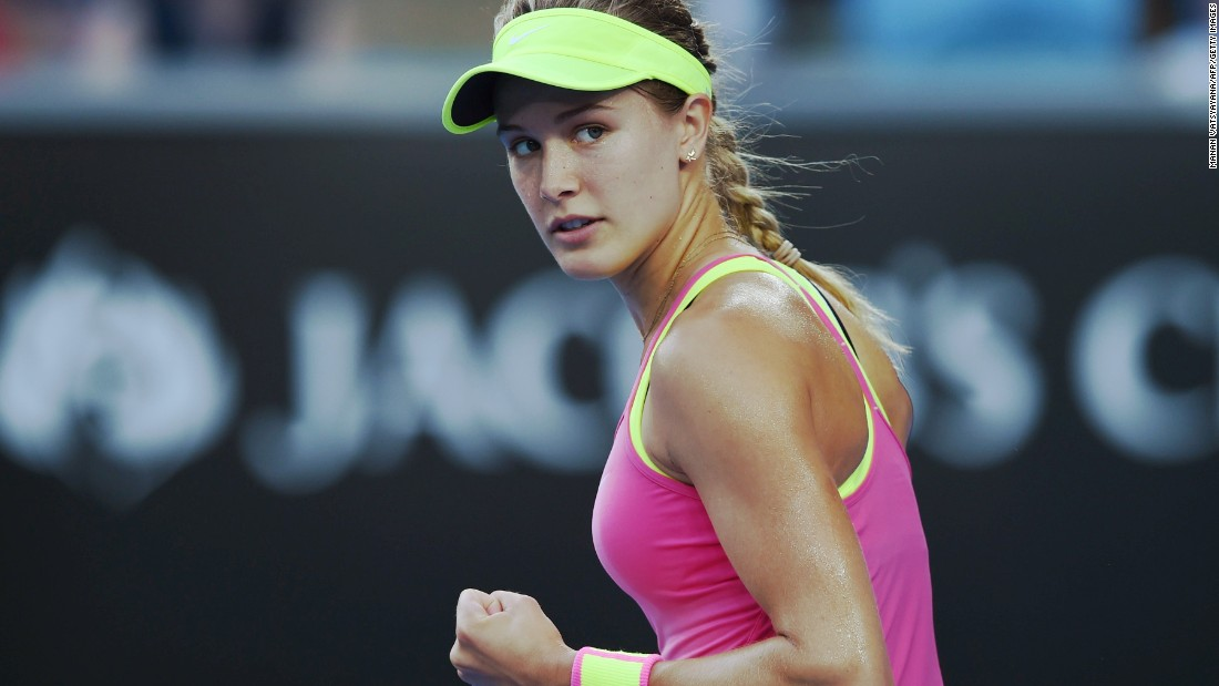 "Eugenie Bouchard said she was ""not offended"" after being asked to do a twirl, but a former player was not impressed with the request."