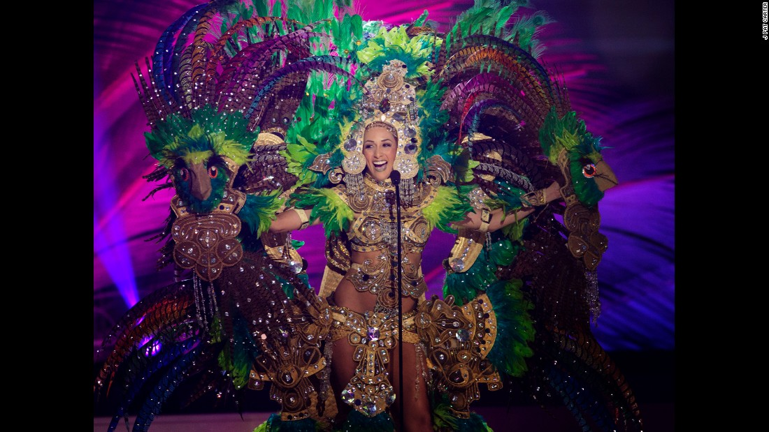 miss universe national costume show