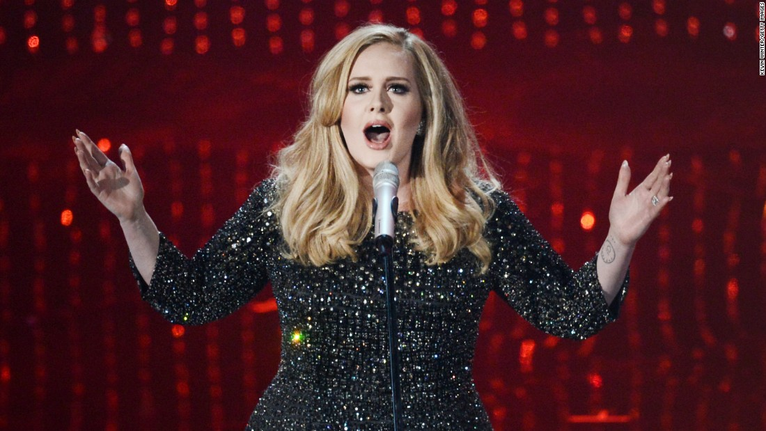 In 2011, singer Adele was forced to cancel a sold-out tour of the U.S. due to a hemorrhage in her vocal cord.
