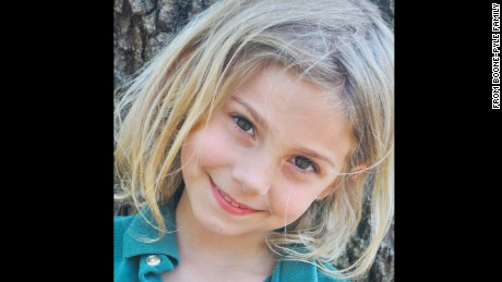 Charlotte Boone, 8, is among the four grandchildren thought to have died in the fire.