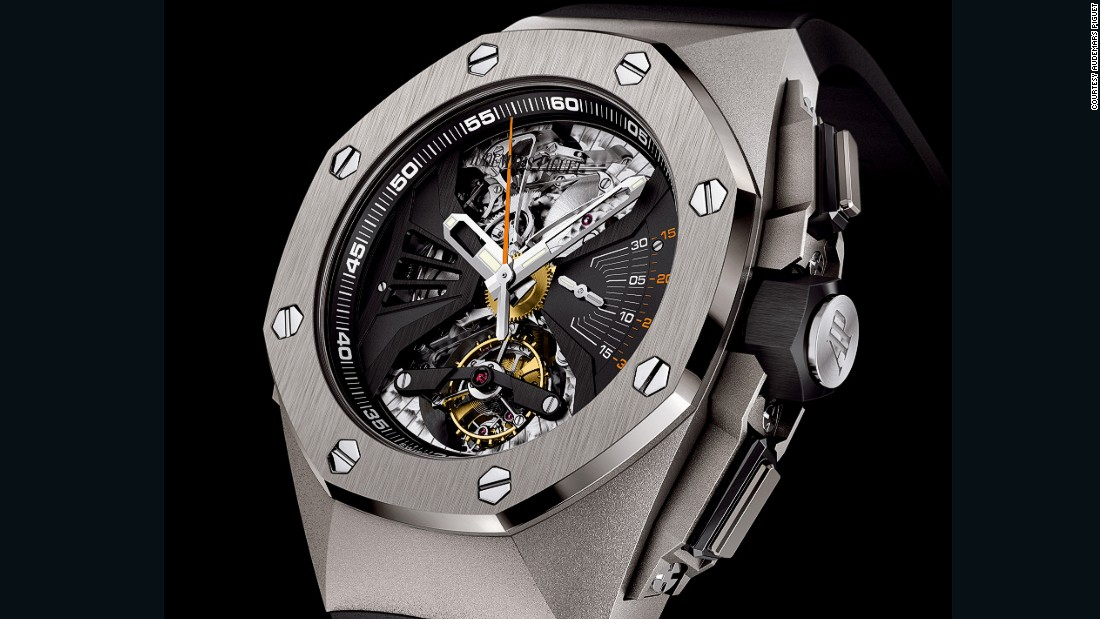 "One of the most technically flamboyant watches on display came from Swiss-based <a href=""http://www.audemarspiguet.com/"" target=""_blank"">Audemars Piguet</a>. In the making for over eight years, the company drafted in an expert on stringed instruments to create the Royal Oak Acoustic Research Concept . The achievement  here is a timepiece that squeezes the pleasing mechanical chimes reminiscent of a Grandfather Clock into the miniature real-estate of a wristwatch."