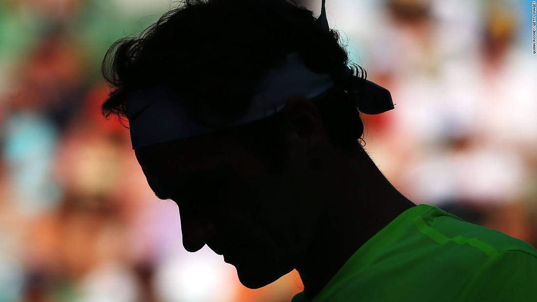 Federer had never lost to Seppi in 10 previous matches, dropping only one set.