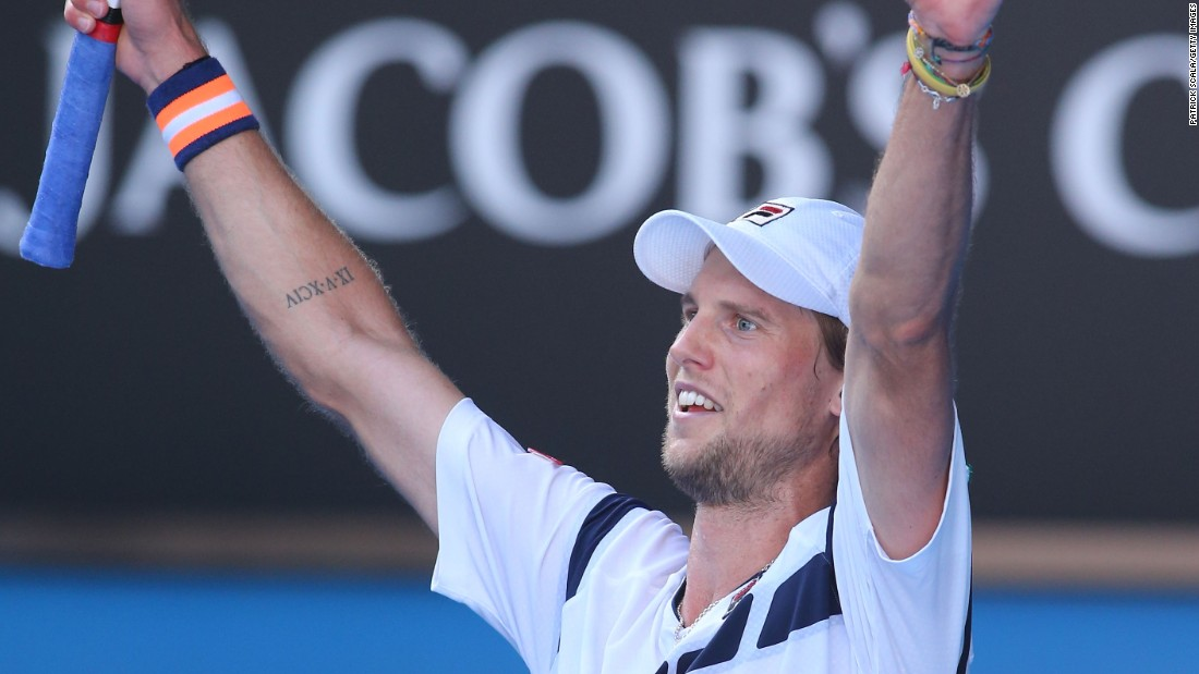 Seppi sealed the match in style, hitting a forehand winner down the line in a fourth-set tiebreak.