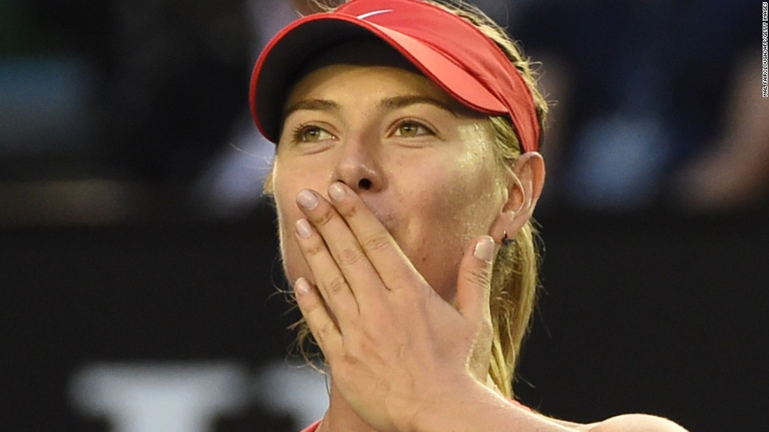 Maria Sharapova needed to save two match points Wednesday against a qualifier but she wasn't troubled Friday. Sharapova routed 31st-seed Zarina Diyas in an hour.
