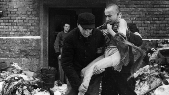 Ivan Dudnik, a 15-year-old Russian, is rescued.  The teen was described as insane from the treatment at the camp.