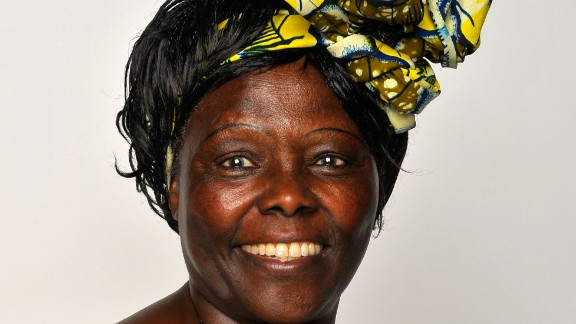 Political activist Dr. Wangari Maathai founded the Green Belt Movement in the 1970s.