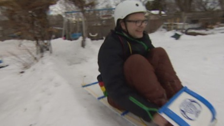 pkg dad builds backyard luge_00004310