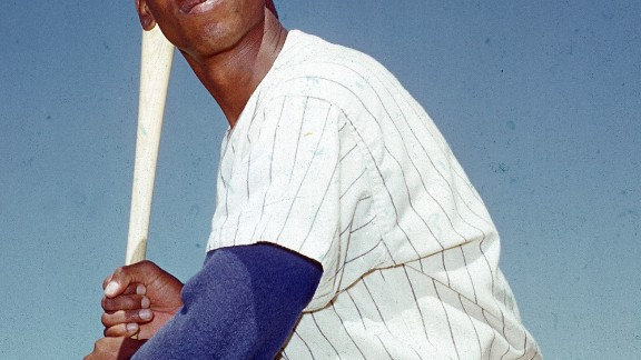"Ernie Banks, a Hall of Fame baseball player nicknamed ""Mr. Cub,"" died January 23 in Chicago, family attorney Mark Bogen said. Banks was 83."