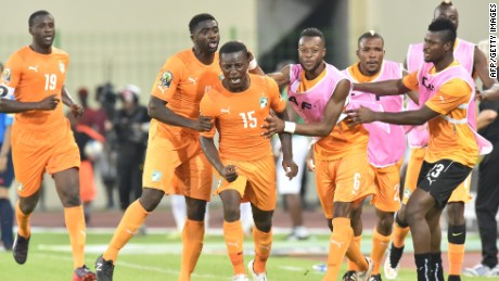 Ivory Coast scored a later equalizer against Mali in the Africa Cup of Nations.