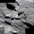 Philae drifting across comet