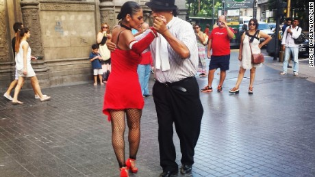 ARGENTINA: Tango in Buenos Aires. Photo by CNN's Shasta Darlington. Follow @shastadarlington and other CNNers on the @cnnscenes gallery on Instagram for more images you don't always see on news reports from our teams around the world.