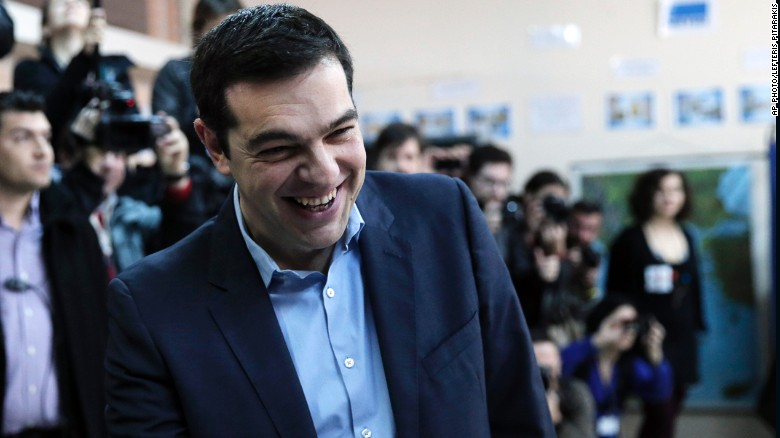 Left-wing Syriza party promises to end austerity