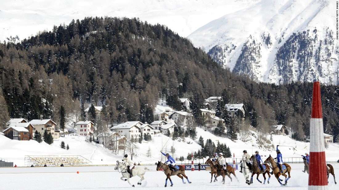 Organizers claim locals call St Moritz 'the Wimbledon of snow polo'.