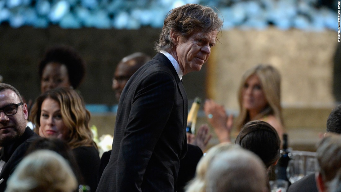 "William H. Macy won outstanding actor in a comedy series for his role in ""Shameless."""