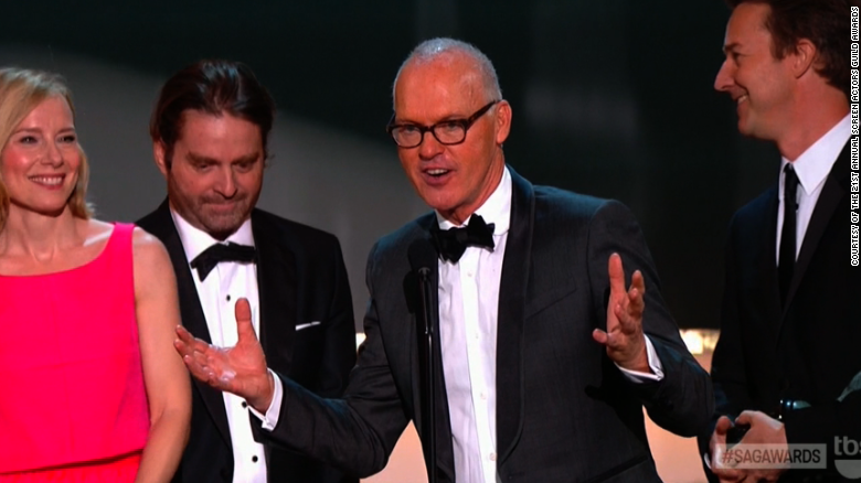 'Birdman' flies high at SAG Awards