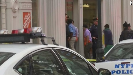 NY police: Shooting in Home Depot store leaves 2 dead