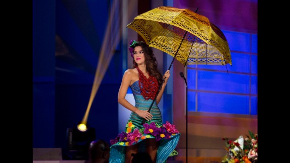 Miss Colombia Paulina Vega participates in the the Miss Universe national costume show in January in Miami. Check out some of the most fabulous looks from this year's contest.