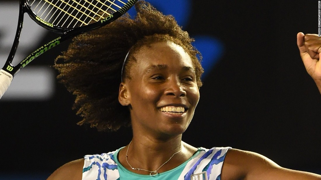 Venus Williams upset Agnieszka Radwanska in three sets. So, for the first time in five years, both Williams sisters are into a grand slam quarterfinal at the same time.