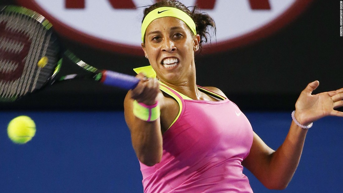 Madison Keys, one of the game's biggest hitters, achieved a first grand slam quarterfinal. She'll face Venus Williams next.