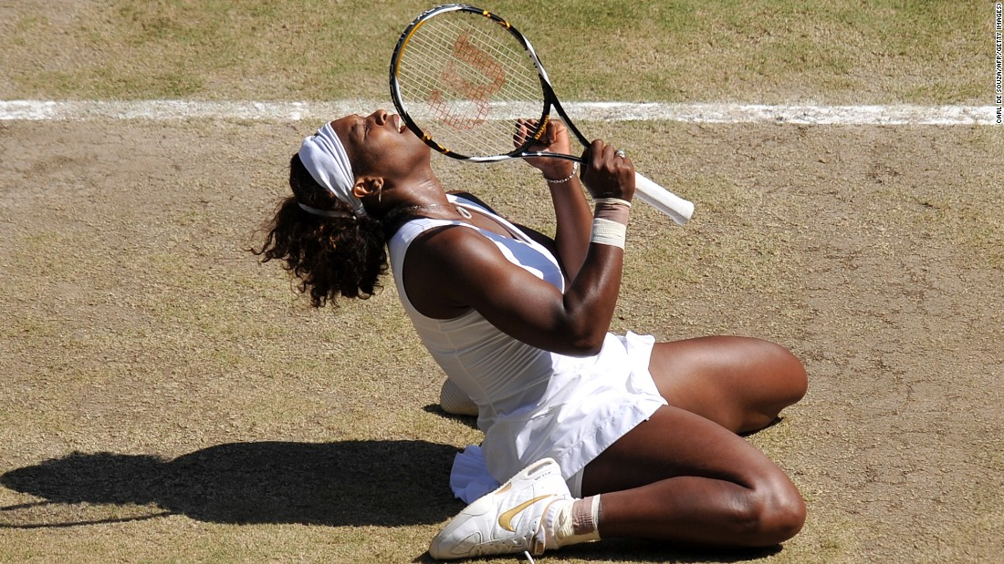 That year, Serena beat Venus 7-6 (7/3) 6-2 in the final at the All England Club.