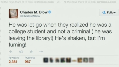 nyt charles blow son detained yale police_00003026