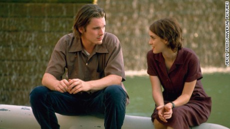 "Ethan Hawke and Winona Ryder in ""Reality Bites"" from 1994"