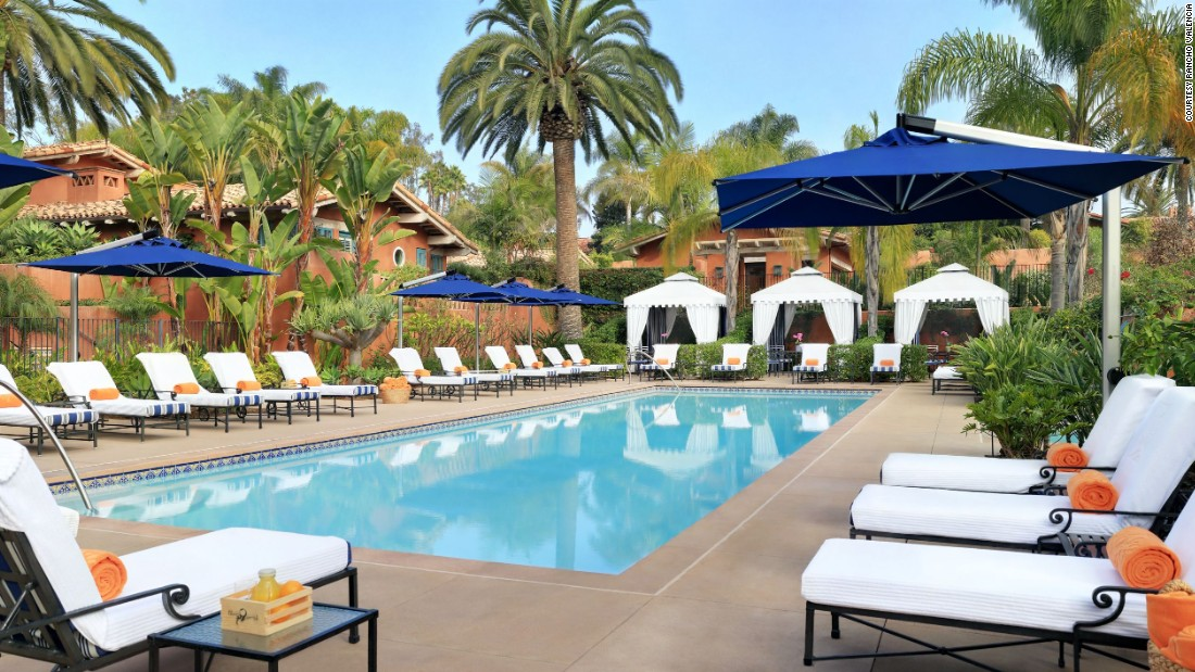 1. Rancho Valencia Resort & Spa, California