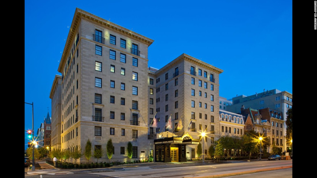 10. The Jefferson, Washington, D.C.