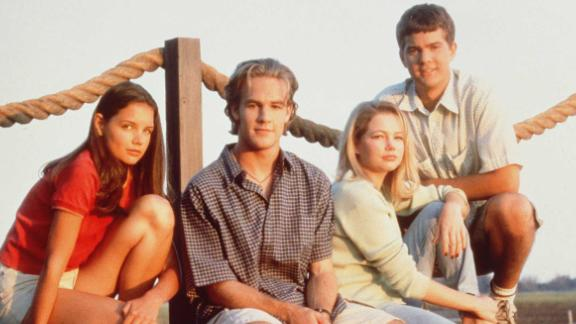 "In 1998, a quad of then-unknown teens stepped into roles that would come to define their lives. ""Dawson's Creek"" lasted for six seasons, but its popularity is still strong 10 years after the series finale. Need proof? Star James Van Der Beek's role on ""Don't Trust the B----"" revolved around the fact that he's ""Beek from the Creek.""  Katie Holmes (far left), Michelle Williams (third from left); and Joshua Jackson (right) haven't done too badly for themselves, either."