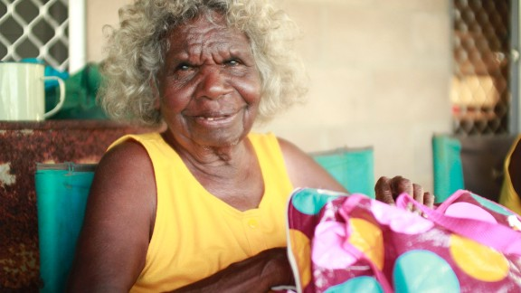 Wik elder Bertha Yunkaporta. Just 3% of Australia's population are indigenous, but they suffer disproportionately high rates of disease and imprisonment than non-Indigenous Australians.
