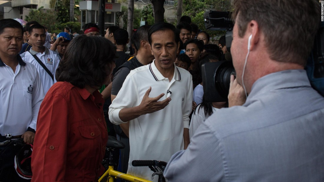 """We want Indonesia to be an example of moderate Islam, Islam that has tolerance, good Islam,"" he told Amanpour.<br /><br />""And I am sure that we are able to do so. In Indonesia, Islam and democracy can go together."""