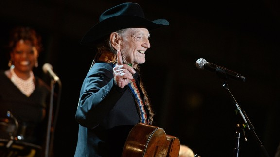 """Now in his 80s, Willie Nelson maintains the schedule of a much younger man. He put out two albums in 2014 -- including the well-received """"Band of Brothers"""" -- had his famous braided hair sold at auction for $37,000 and stayed on the road. He was key to organizing Farm Aid, which raises money for family farmers, and started a company, BioWillie, to produce biodiesel fuel."""