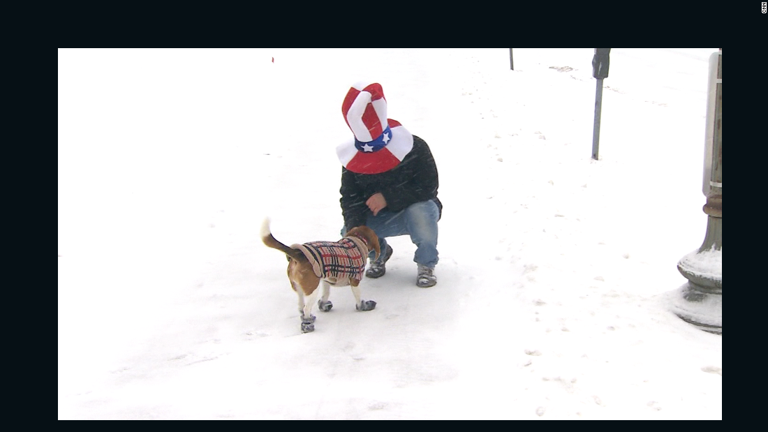 What Not To Do In A Snowstorm Cnn Video