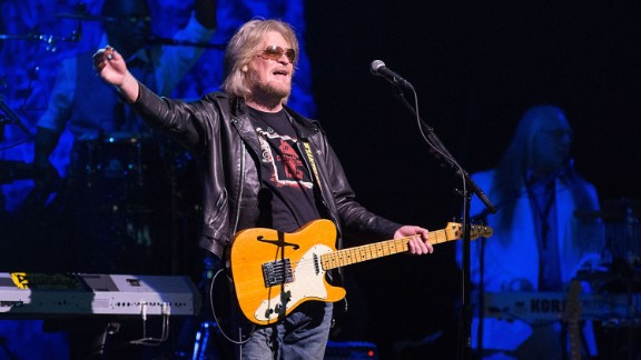 """Daryl Hall of Hall & Oates has put out a handful of solo records -- one of them, """"Three Hearts in the Happy Ending Machine,"""" produced a hit single, """"Dreamtime."""" He has occasionally toured with John Oates (who's also on """"We Are the World,"""" though in the chorus). The pair was inducted into the Rock and Roll Hall of Fame in 2014. Hall has also hosted a successful video series, """"Live from Daryl's House."""""""