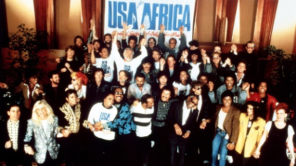 """A crowd of famous musicians and performers gathered to sing """"We Are the World,"""" a fund-raiser for African famine relief, on January 28, 1985. Here's what some of them have done in the years since:"""