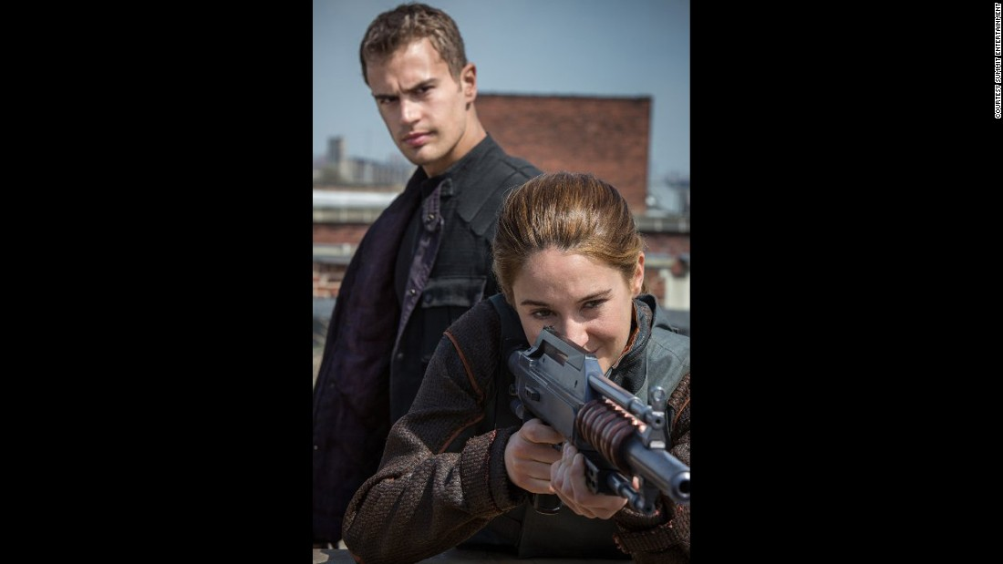 """The Hunger Games"" was one of the original dystopian series, featuring futuristic, dark settings where teens battle the odds (or adults) to save humanity. Veronica Roth's ""Divergent"" trilogy continues in this vein with weapon-toting, butt-kicking heroine Tris Prior (Shailene Woodley on the big screen)."