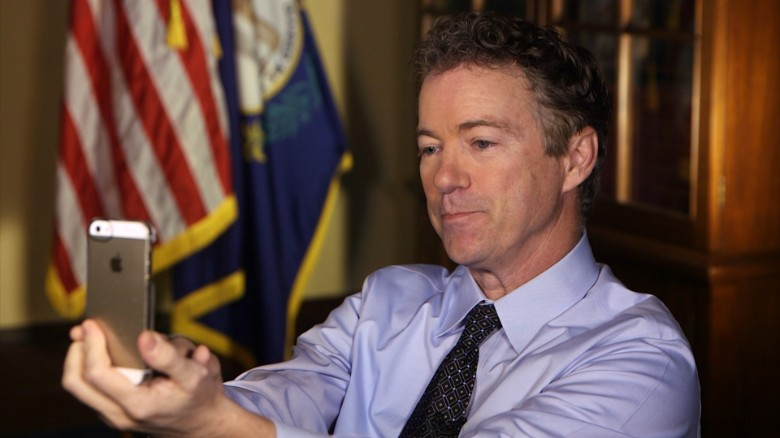 CNN exclusive: Historic Snapchat Interview with Rand Paul