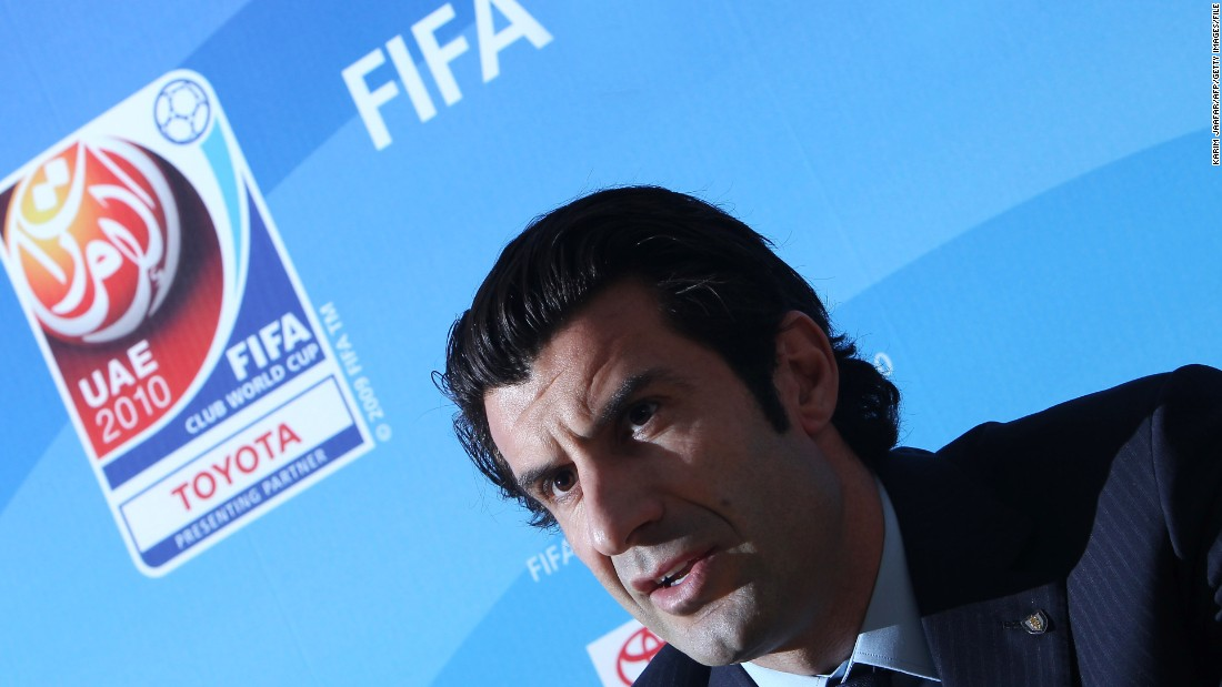 Luis Figo, the former Barcelona and Real Madrid star, has announced his intention to challenge Sepp Blatter for the FIFA presidency.