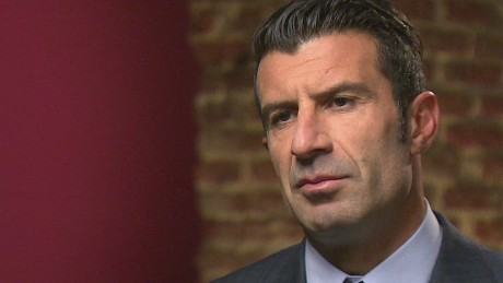 Exclusive: The moment Figo announced his run for FIFA presidency