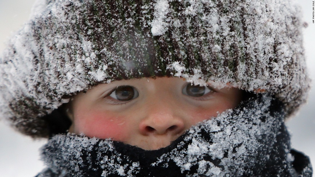 "JANUARY 28 - NEW HAMPSHIRE, UNITED STATES: A boy is bundled up as he plays in the snow following a snowstorm in Concord. <a href=""http://edition.cnn.com/2015/01/28/us/weather-storm/index.html"">Boston saw its biggest snow for any January </a>with more than 24 inches. Worchester, Massachusetts, broke its all-time record with 33.5 inches. Only Lunenburg, Massachusetts, broke the three-foot mark -- with 36 inches -- by early Wednesday, <a href=""http://www.hpc.ncep.noaa.gov/discussions/nfdscc2.html"" target=""_blank"">according to the National Weather Service.</a>"