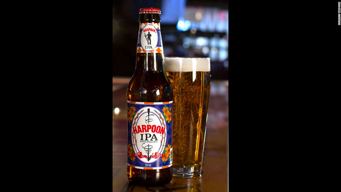 <strong>Harpoon IPA -- Harpoon Brewery </strong>(Boston, Massachusetts, and Windsor, Vermont)<br />
