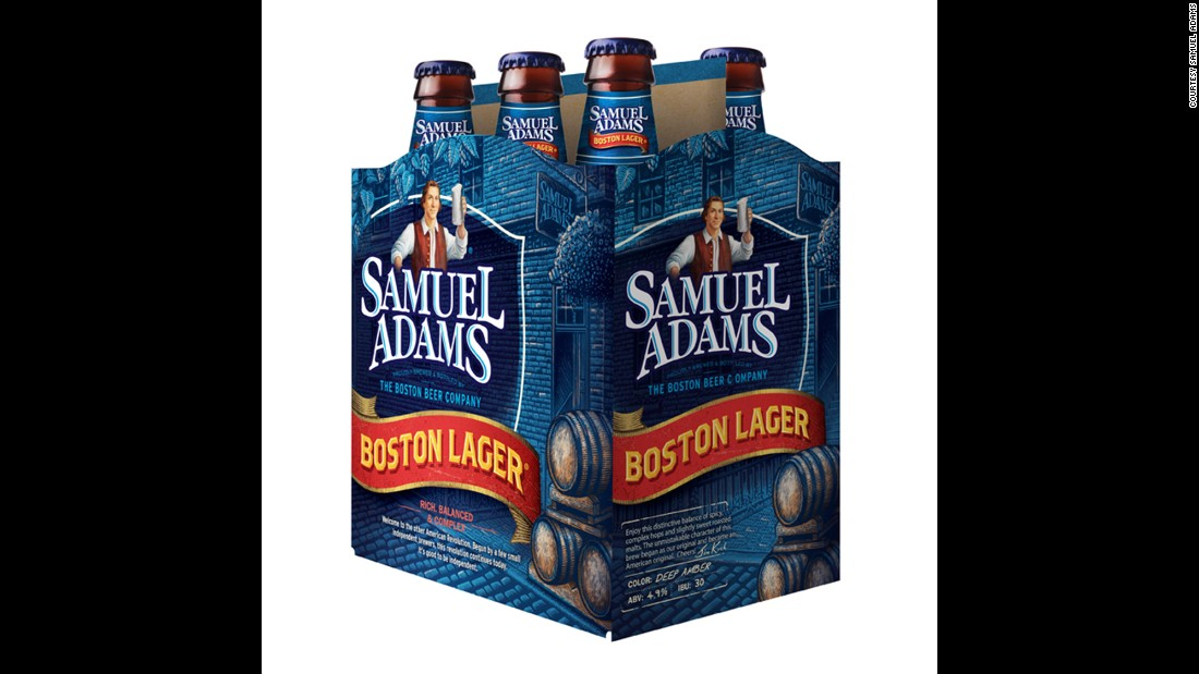 <strong>Boston Lager -- Samuel Adams</strong> (Boston, Massachusetts)<br />