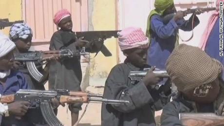 Pictures depict depravity at Boko Haram camp