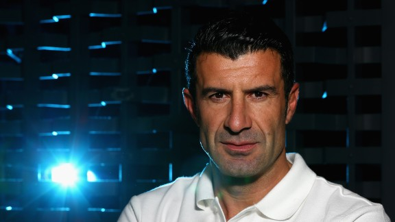 Former Portugal captain Luis Figo pulled out of the running for FIFA president before last week