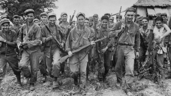 During World War II, U.S. Army Rangers with Filipino guerrillas led a mission to free 513 prisoners of war being held by Japan at the Cabanatuan prison camp in the Philippines. The 30-minute raid took place on January 30, 1945. It was one of the most successful rescue missions in U.S. military history.