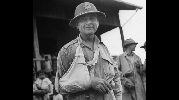 Among the rescued prisoners was Col. James Duckworth, who broke his left arm at the start of the war. He fell during the raid and broke his other arm.