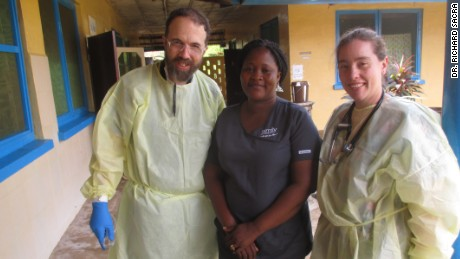 Dr. Rick Sacra and his staff help with healing and cope with loss as they try to get back to normal in Liberia.