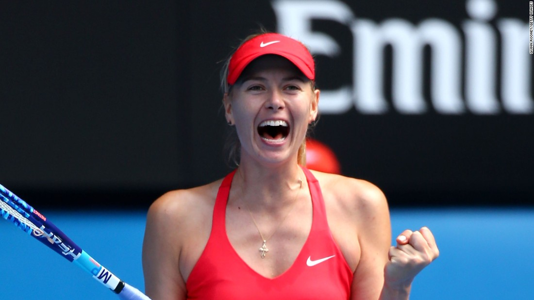 Sharapova is bidding to win a first grand slam title outside Roland Garros in seven years.