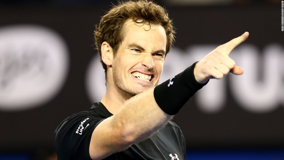 Andy Murray reached a fourth Australian Open final by topping Tomas Berdych in four sets.